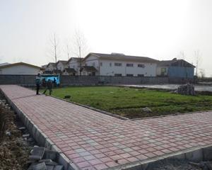 پروژه احداث زمین بازی و زمین ورزشی شهرک سید احمد خمینی
