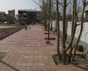 پروژه احداث فضای مکث شهرک سید احمد خمینی