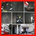 مهار آتش سوزی در طبقه اول ساختمانی واقع در کوی بیانی رشت