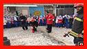 آموزش ایمنی و آتش نشانی به کودکان مدرسه دخترانه « شاهد » رشت
