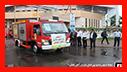 رژه ناوگان خودرویی سازمان آتش نشانی رشت و گلباران گلزار شهدای گمنام به مناسبت 7 مهر روز آتش نشانی و ایمنی/ آتش نشانی رشت