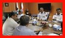 برگزاری جلسه ستادی سازمان آتش نشانی رشت/ به روایت تصویر