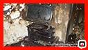 آتش سوزی خانه ویلایی در بلوار شهید افتخاری رشت/ آتش نشانی رشت