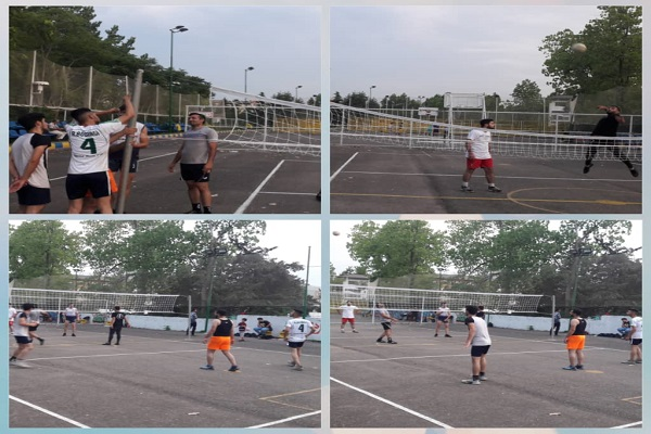 به همت سازمان فرهنگی ،اجتماعی و ورزشی شهرداری رشت :نصب میله و تور استاندارد والیبال در مجموعه ورزشی شهدای منظریه به روایت تصویر